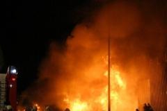 Großbrand am Linzer Flughafen