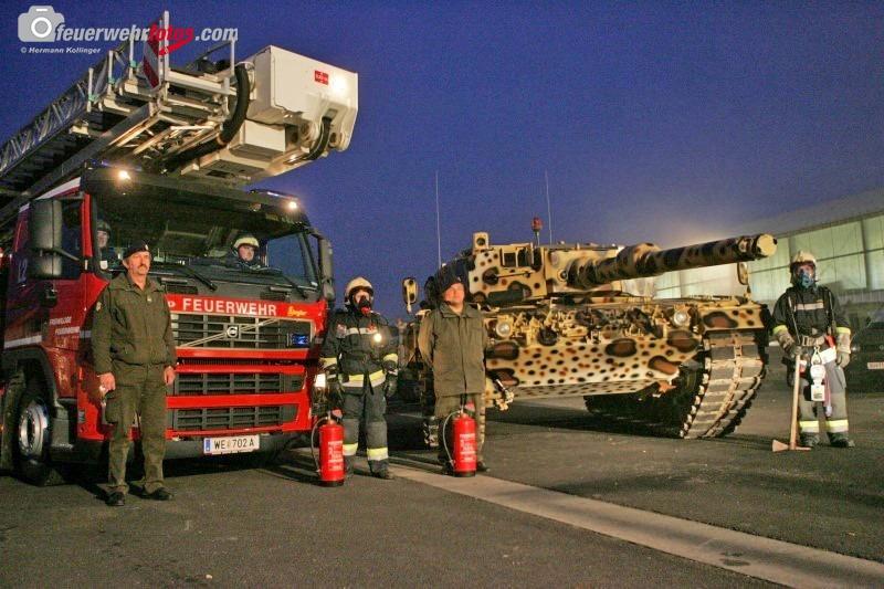 Bundesheer- und Feuerwehrübung