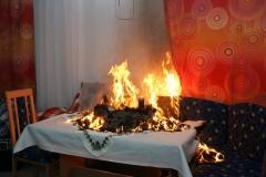 Brandgefahren zur Adventzeit