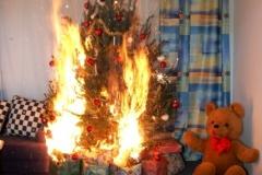 Weihnachten - Brandgefährliche Zeit