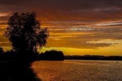 Stimmung an der Donau